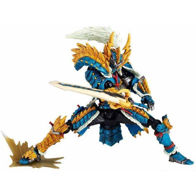 Revoltech Yamaguchi No.133 Series - Monster Hunter: Hunter Swordsman Zinogre