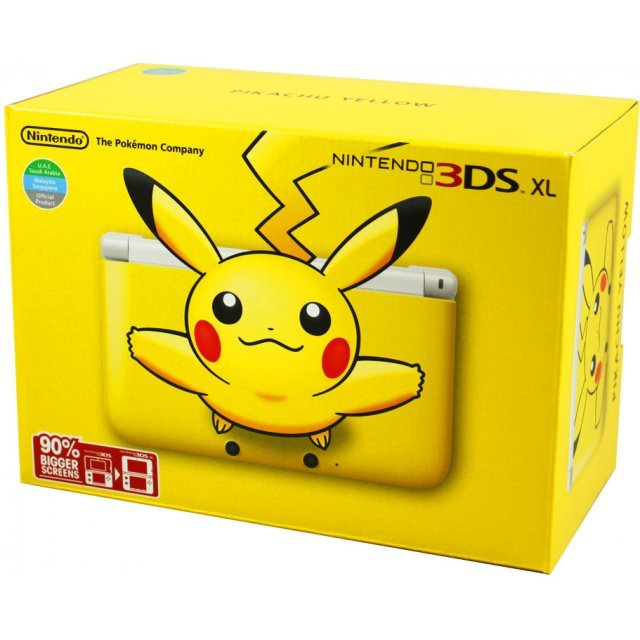 Photos of the pikachu yellow edition new 3ds xl nintendo everything.