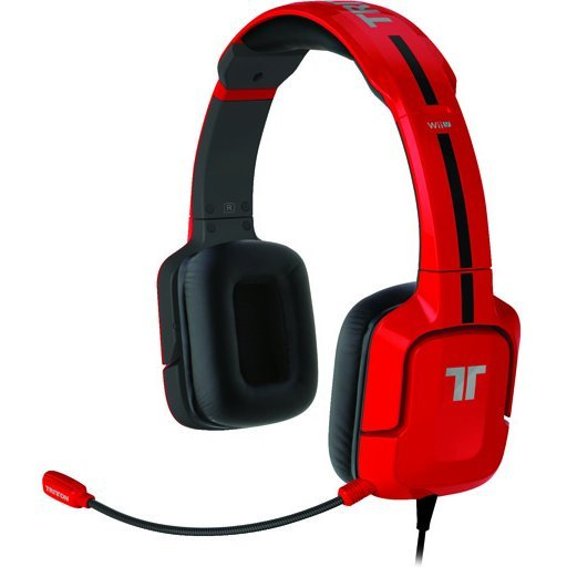 Tritton Kunai Stereo Headset (Nintendo 3DS, Wii U) Red