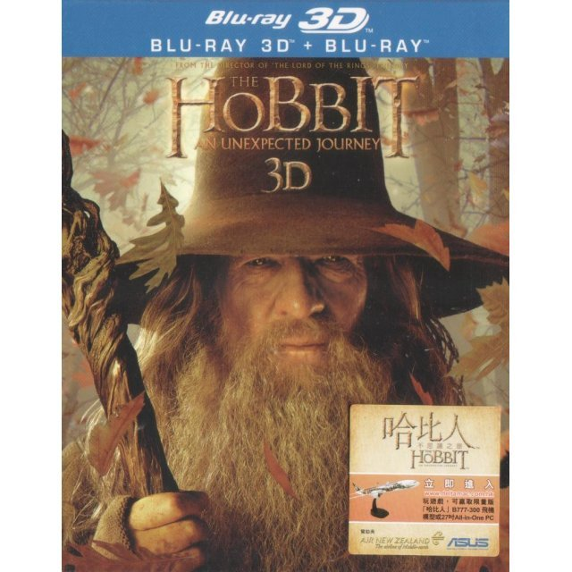 The Hobbit: An Unexpected Journey 3D[4 Blu-ray]