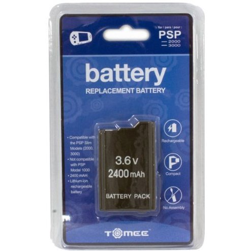 Tomee Battery Replacement for PSP 2000/3000