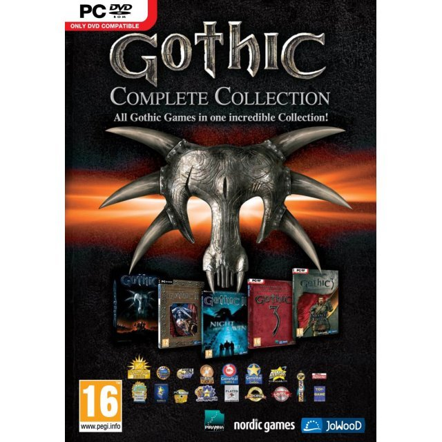 Gothic: Complete Collection (DVD-ROM)