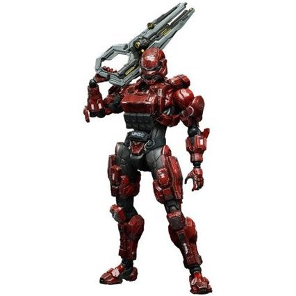 Halo 4 Play Arts Kai Non Scale Pre-Painted Figure: Spartan Soldier