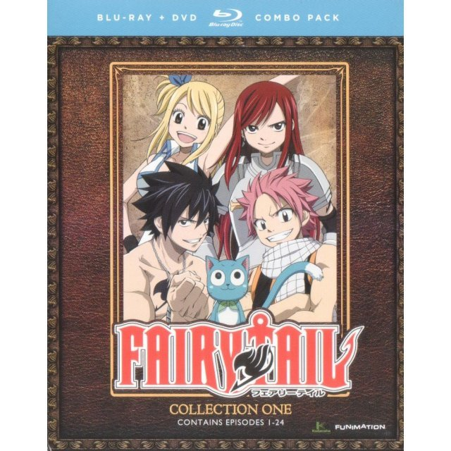 Fairy Tail Collection One [Blu-ray+DVD]