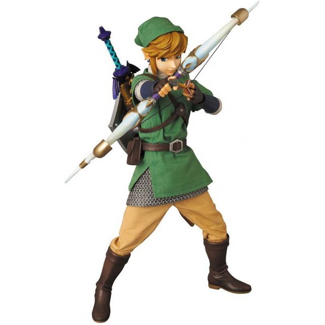 Real Action Heroes The Legend of Zelda Pre-Painted PVC Figure: Link