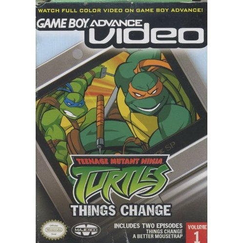Game Boy Advance Video: Teenage Mutant Ninja Turtles: Things Change - Volume 1