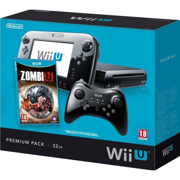 Nintendo Wii U - ZombiU Premium Pack (32GB Black Limited Edition)