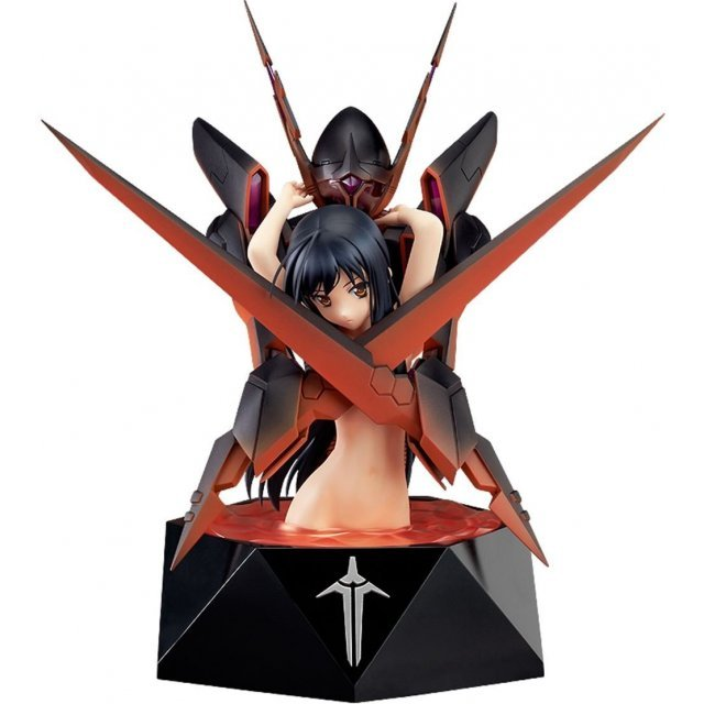 Accel World 1/7 Scale Pre-Painted PVC Figure: Kuroyukihime -Death by Embracing-