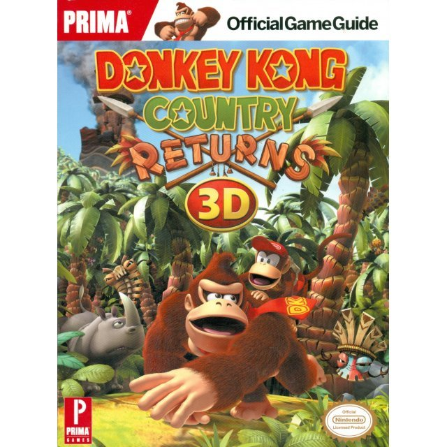 Donkey Kong Country Returns 3D Official Game Guide