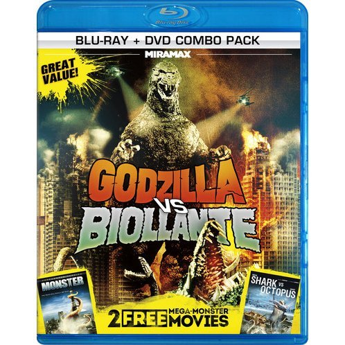 3 Mega-Monster Movies [Blu-ray+DVD]