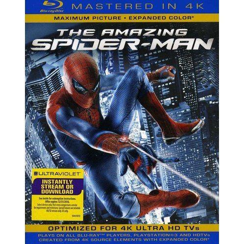 The Amazing Spider-Man [Blu-ray+UV Digital Copy]