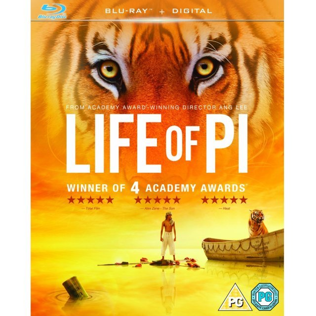 Life of Pi [Blu-ray+UV Digital Copy]