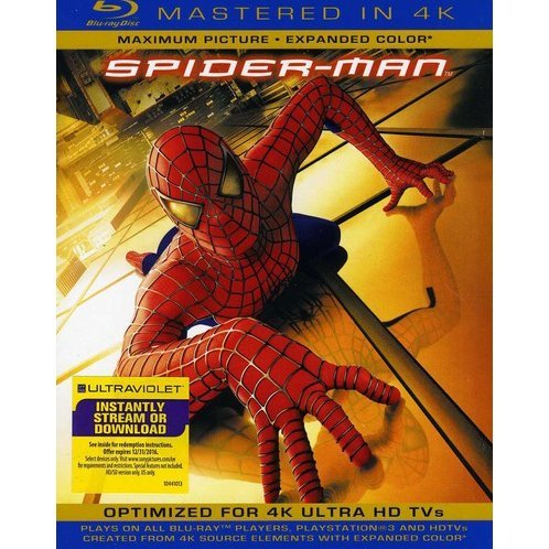 Spider-Man [Blu-ray+UV Digital Copy]