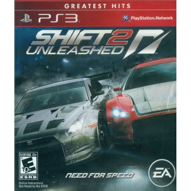 Shift 2 Unleashed: Need for Speed (Greatest Hits)