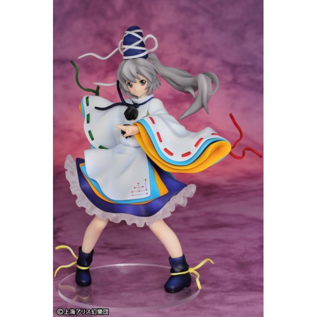 Touhou Project 1/8 Scale Pre-Painted PVC Figure: Shikabane Solution Sen Mononobe Cloth Capital