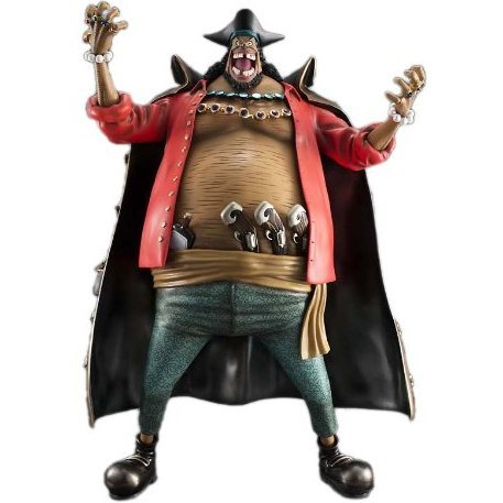 Excellent Model Portrait.Of.Pirates One Piece Series NEO-Maximum 1/8 Scale Pre-Painted PVC Figure: Kurohige Marshall D. Teach