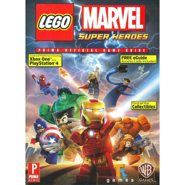 LEGO Marvel Super Heroes Official Game Guide