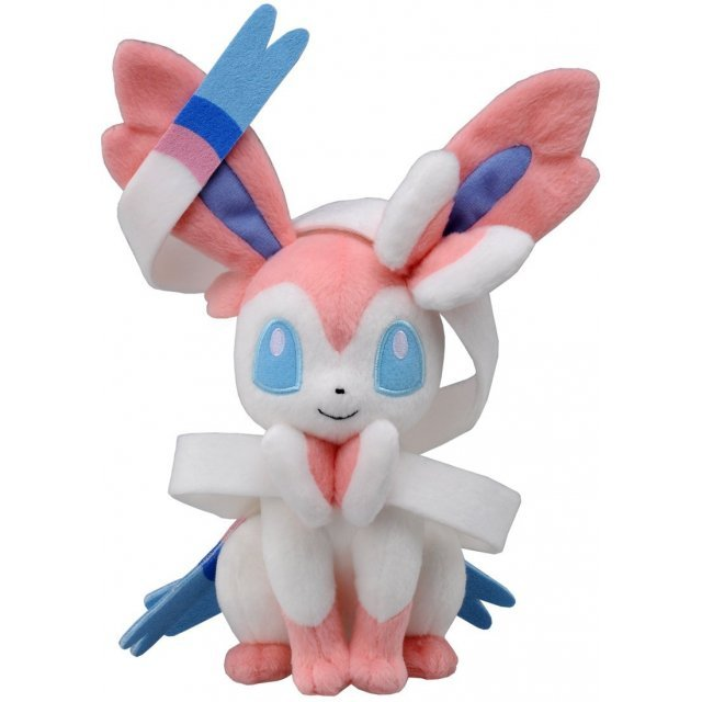 Pokemon Best Wishes Plush Doll: N-50 Sylveon