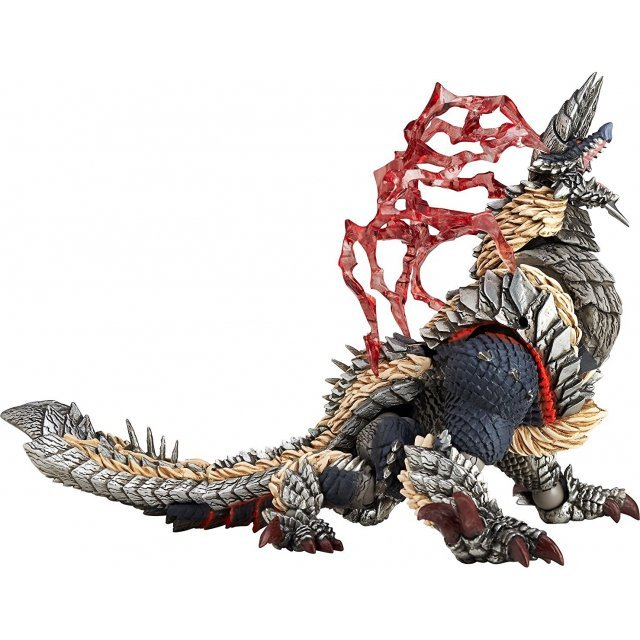 Revoltech Yamaguchi Series No.135 EX Non Scale Pre-Painted PVC Figure: Monster Hunter Zinogre Limited Edition