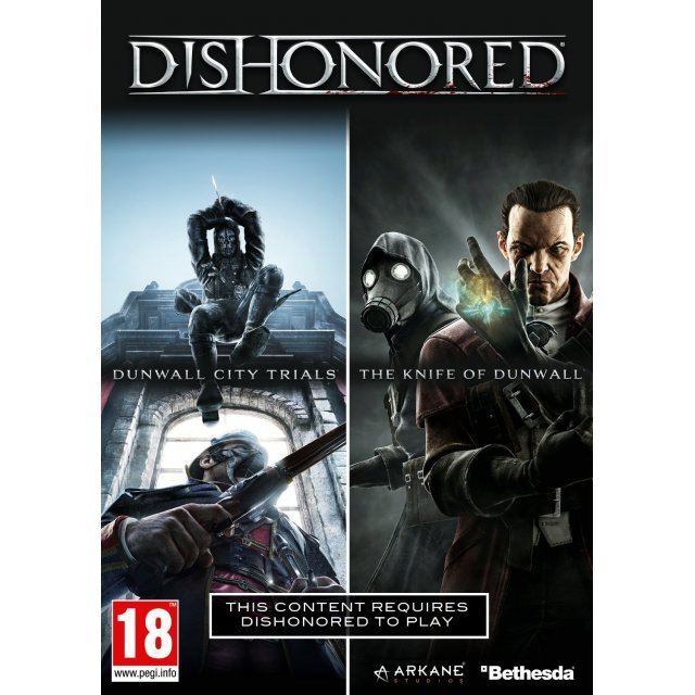 Dishonored: Dunwall City Trials & The Knife of Dunwall Boxed DLC (DVD-ROM)