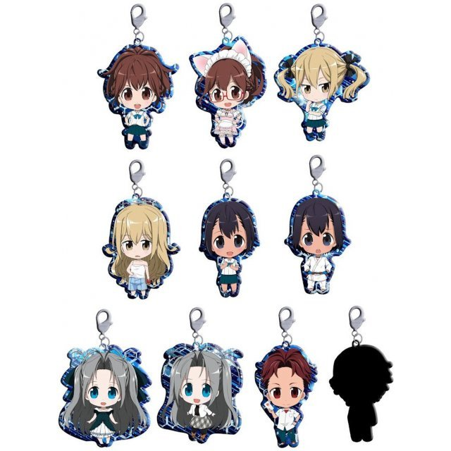 Penguin Parade Robotics;Notes Trading Metal Charm Strap
