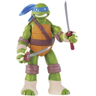 Teenage Mutant Ninja Turtles Battle Shell Action Figure: Leonardo