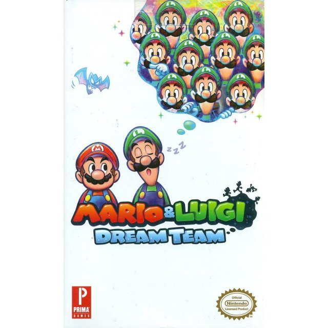 Mario & Luigi Dream Team Official Game Guide