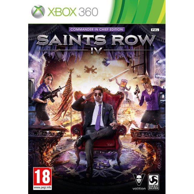 Saints Row IV (Commander in Chief Edition)