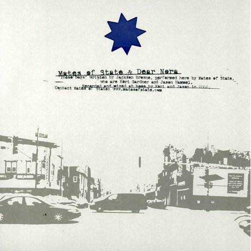 Mates of State / Dear Nora