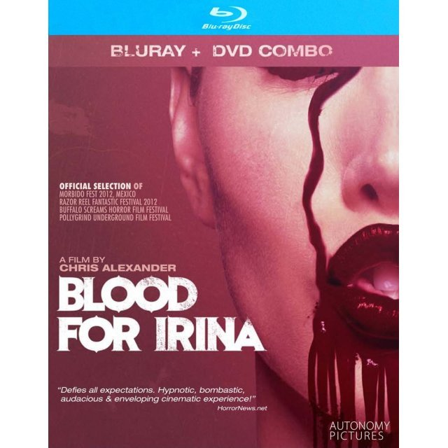Blood for Irina [Blu-ray+DVD]