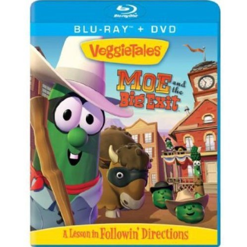 Veggie Tales: Moe and the Big Exit [Blu-ray+DVD]