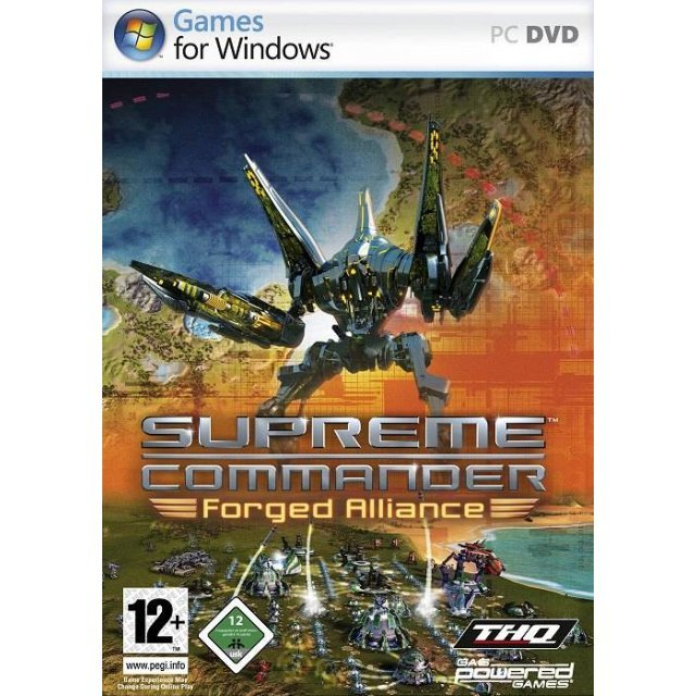 Supreme Commander: Forged Alliance (DVD-ROM)