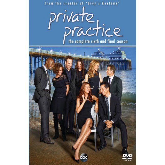 Private Practice: The Complete Sixth and Final Season [3DVD]
