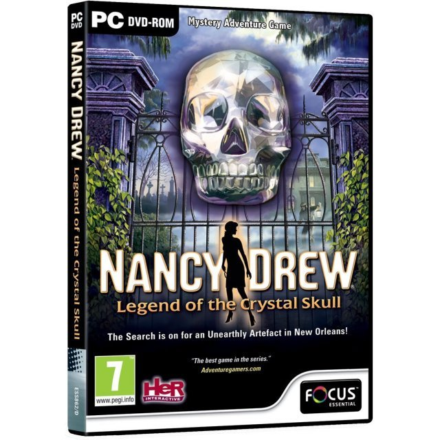 Nancy Drew: Legend of the Crystal Skull (DVD-ROM)