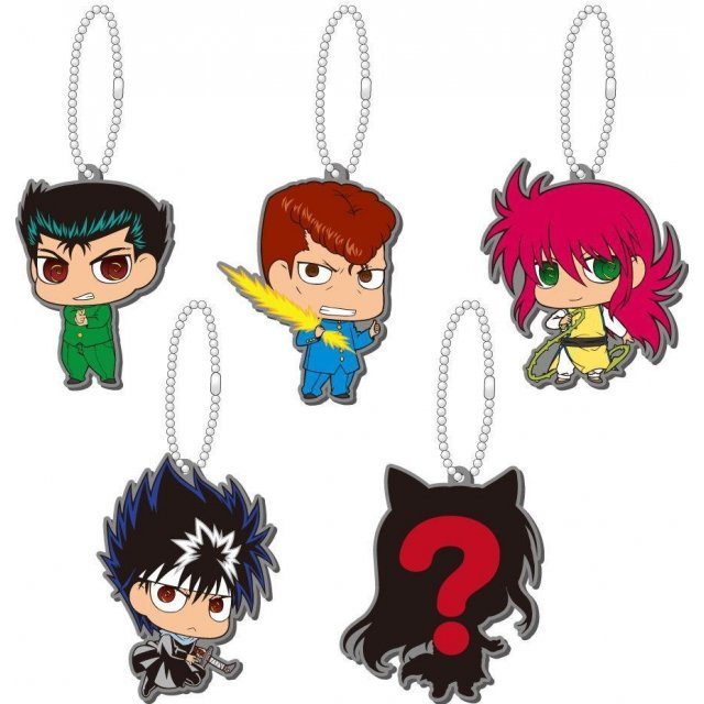 YuYu Hakusho Rubber Mascot vol.1: Urameshi Team