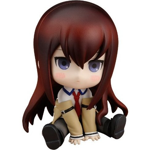 Steins;Gate Petanko Non Scale Pre-Painted PVC Figure: Makise Kurisu