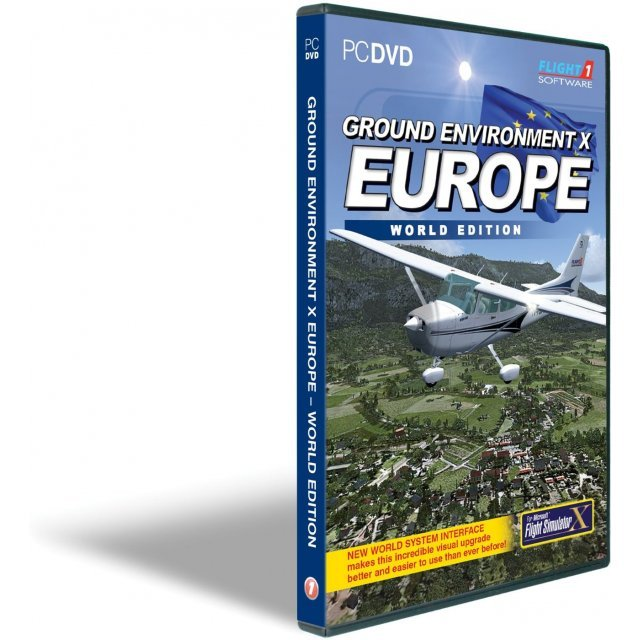 Ground Environment X Europe World Edition Series (DVD-ROM)