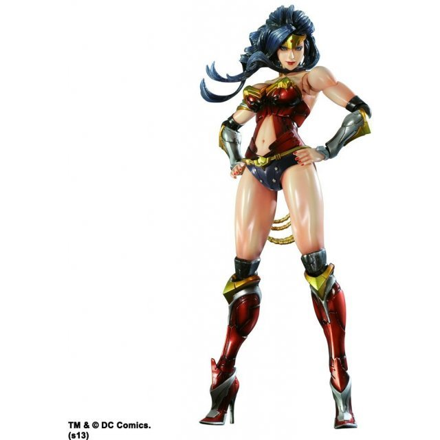 DC Comics Variant Play Arts Kai Non Scale Pre-Painted Figure: Wonder Woman