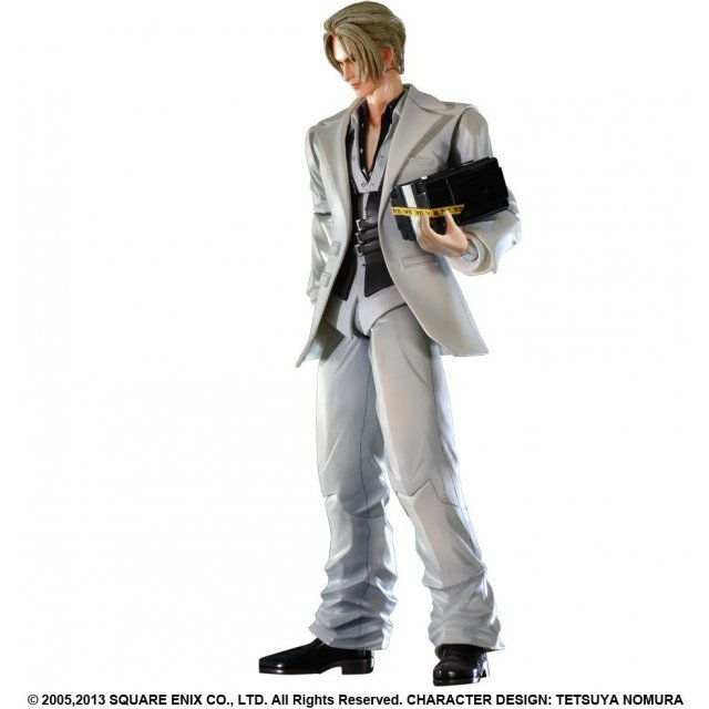 Final Fantasy VII Advent Children Play Arts Kai Non Scale Pre-Painted Figure: Rufus Shinra