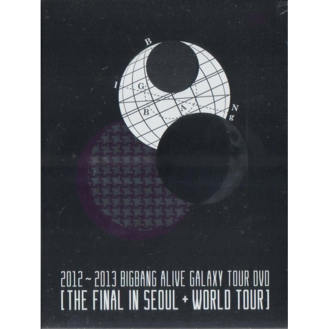 2012-2013 Bigbang Alive Galaxy Tour Dvd - The Final In Seoul & World Tour [5DVD+Photobook Limited Edition]
