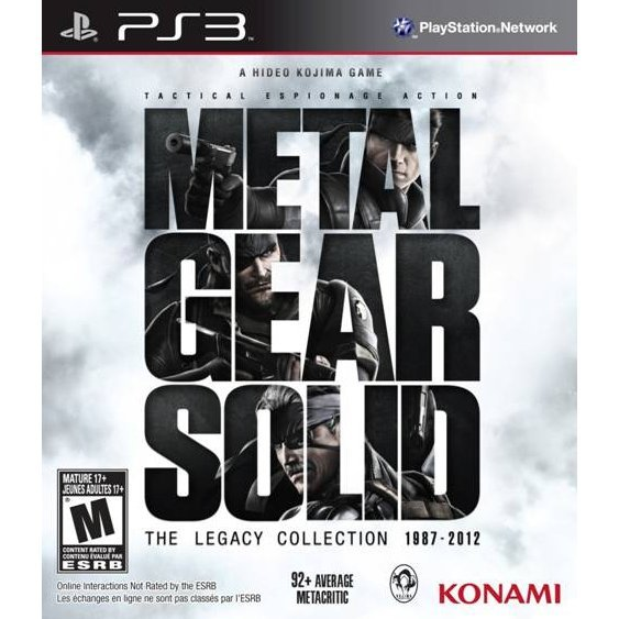 Metal Gear Solid: The Legacy Collection (w/o Artbook)