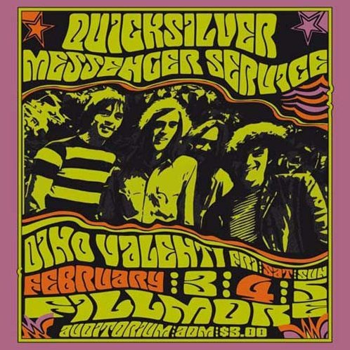 Fillmore Auditorium Feb 4th 1967 with Dino Valenti