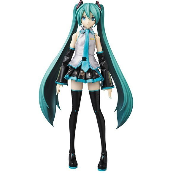 Character Vocaloid Series 01 Hatsune Miku Real Action Heroes 1/6 Scale Fashion Doll: Hatsune Miku -Project DIVA- F