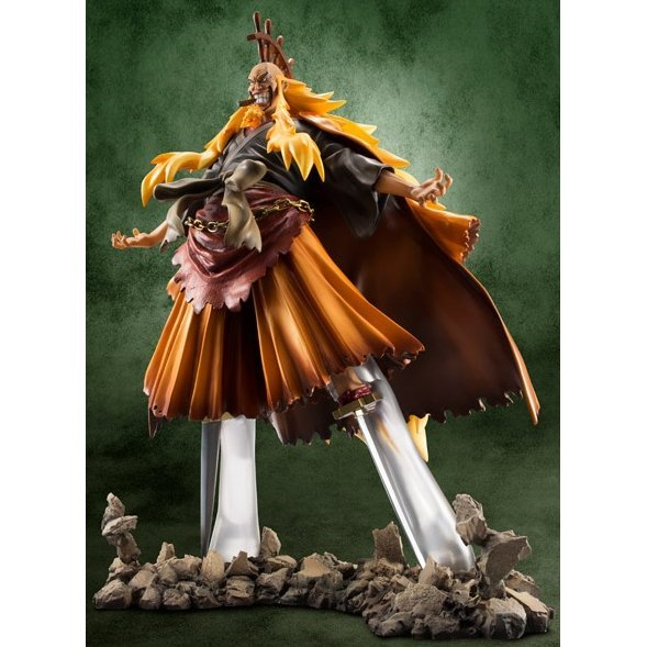 Excellent Model One Piece Portraits of Pirates Series 1/8 Scale SE-Maximum Pre-Painted Figure: Shiki the Golden Lion