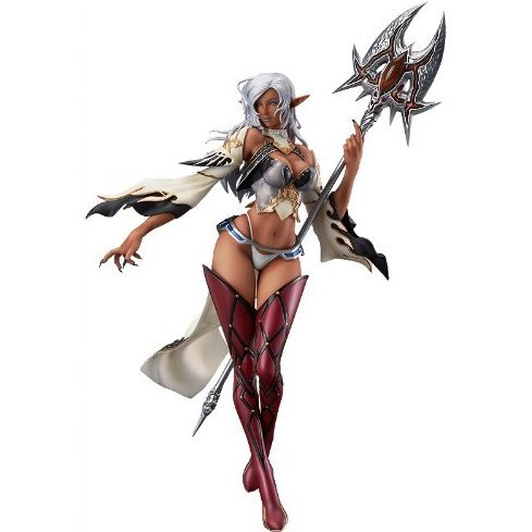 Lineage II 1/7 Scale Pre-Painted PVC Figure: Dark Elf Brown Skin ver.