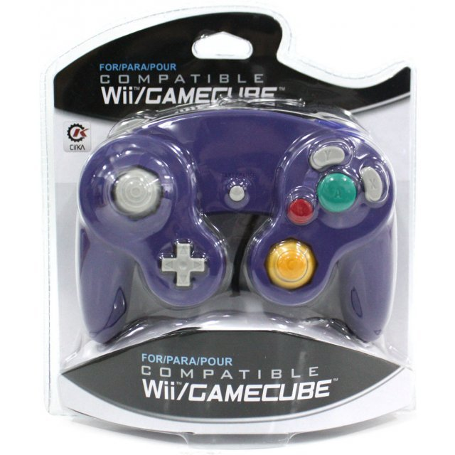 CirKa Wired Controller For Wii/GameCube (Purple)