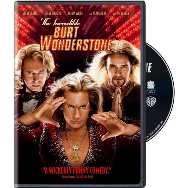 The Incredible Burt Wonderstone [DVD+Digital Copy+UltraViolet]