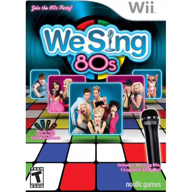 We Sing: 80s (w/ 1 Logitech USB Microphone)