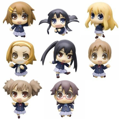 K-on!: Cutie Figure Mascot Trading Figures (Re-run)