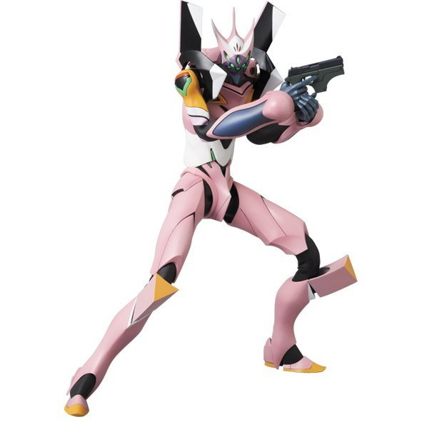 Real Action Heroes Rebuild of Evangelion Pre-Painted PVC Figure: Eva-08 Beta